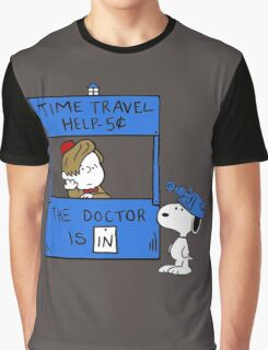 Peanuts Time Travel Graphic T-Shirt
