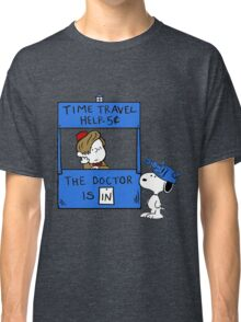 Peanuts Time Travel Classic T-Shirt