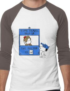 Peanuts Time Travel Men's Baseball ¾ T-Shirt