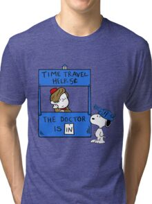 Peanuts Time Travel Tri-blend T-Shirt