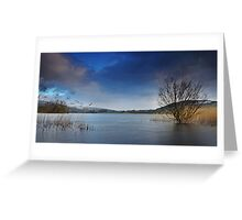 Llangorse lake - 01 Greeting Card
