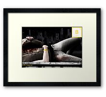 Boron[B]5 Framed Print