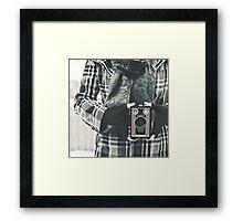 brownie target Framed Print