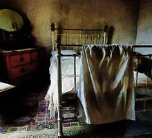 The Loneliness of an Unmade Bed by PictureNZ