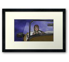 Viridia Driving Framed Print