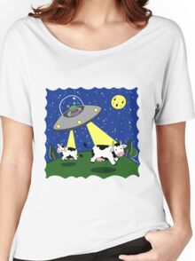 Cow Abduction! Women's Relaxed Fit T-Shirt