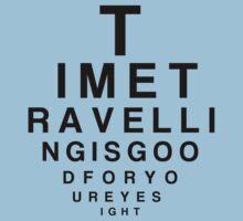 Time Travelling Eyetest by stevebluey