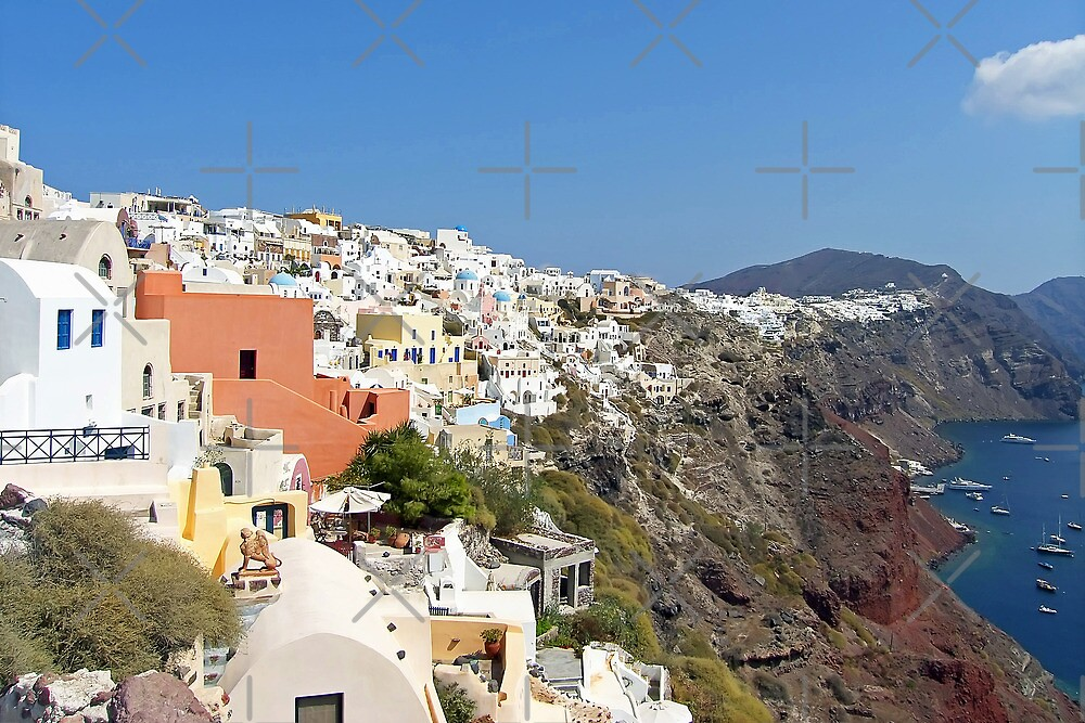Oia, Santorini, Greece by Tom Gomez