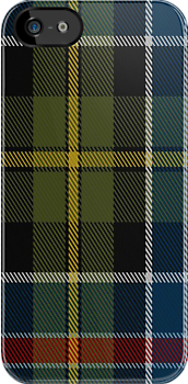 01437 Culloden 1746 Original District Tartan Fabric Print Iphone Case by Detnecs2013