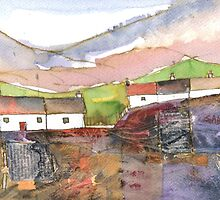 White Cottages 1, Scotland - 2013 by sabro
