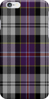 01439 Culloden Dress #2 District Tartan Fabric Print Iphone Case by Detnecs2013