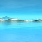 Blue Seas & White Sands by Hugh Fathers