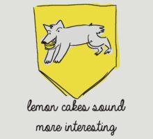 Game Of Thrones - Sansa Stark Lemon Cakes  by reversesquats