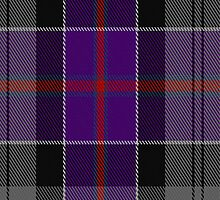 01441 Culloden Grey Tartan Fabric Print Iphone Case by Detnecs2013