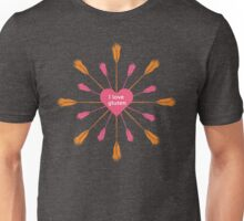 I love gluten Unisex T-Shirt