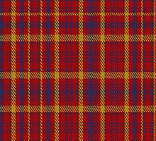 01443 Culloden Unidentified Plaid Fabric Print Iphone Case by Detnecs2013