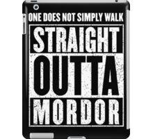 Straight Outta Mordor Quotes iPad Case/Skin