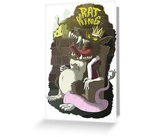 Ratking Greeting Card