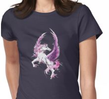 White Pegasus Womens Fitted T-Shirt