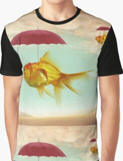 fish umbrellas Graphic T-Shirt
