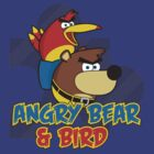 Angry Bear &amp; Bird by byway