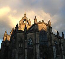 St. Giles Cathedral, Edinburgh by Talia Felix