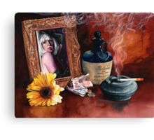 Cigarettes and Whisky and Wild, Wild Women Canvas Print