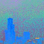 City Abstract Fog by CanoeComsArt