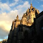 St. Giles Cathedral, Edinburgh with Sky by Talia Felix