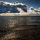 Balaton sunset by Balint Takacs