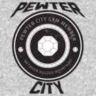 Pewter City Gym Vintage Tee by James Headrick