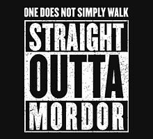 Straight Outta Mordor Quotes Unisex T-Shirt