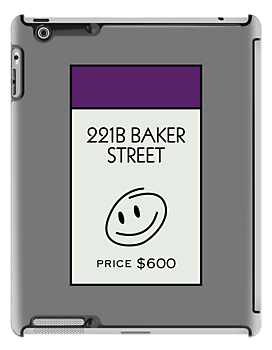 221B Baker Street Monopoly Location by huckblade