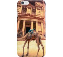 Camel of Petra iPhone Case/Skin