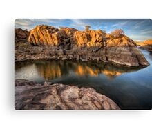 Sunset Crawl Canvas Print