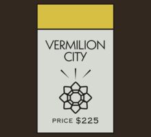 Vermilion City Monopoly Location by huckblade