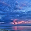 Pink Skies & Sandy Beaches by Steve Baird