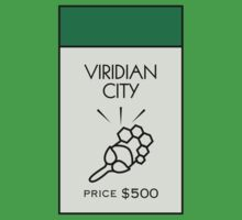 Viridian City Monopoly Location by huckblade
