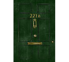 221B Door Photographic Print