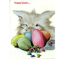 HOP THE EASTER BUNNY Photographic Print