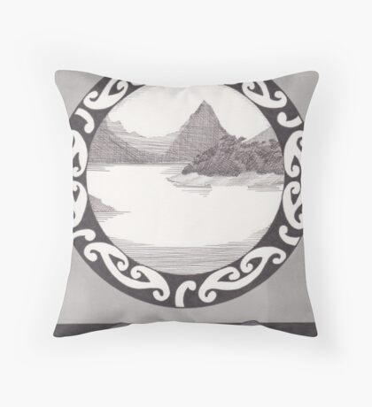 Kerewin's Tower Throw Pillow