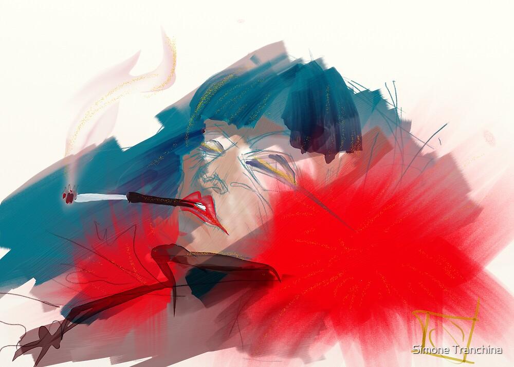 smoking queen by Simone Tranchina