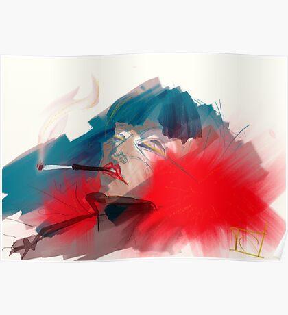 smoking queen Poster