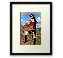Medieval Wonder Woman Framed Print