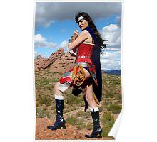 Medieval Wonder Woman Poster