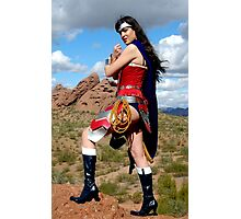 Medieval Wonder Woman Photographic Print
