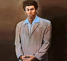 Kramer painting by boxsmash