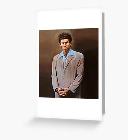 Kramer painting Greeting Card