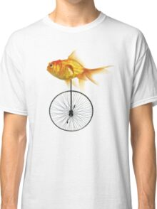 unicycle goldfish Classic T-Shirt