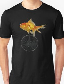 unicycle goldfish T-Shirt